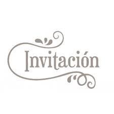 SELLO INVITACIÓN MADERA