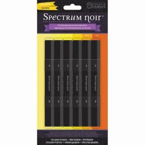 SET 6 ROTULADORES SPECTRUM NOIR YELLOWS