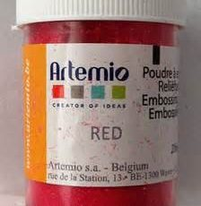 EMBOSSING POWDER RED