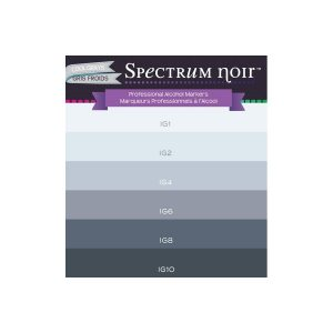 SET 6 ROTULADORES SPECTRUM COOL GRAYSOIR C