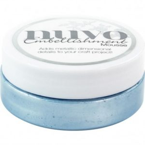 NUVO MOUSSE CORNFLOWER BLUE