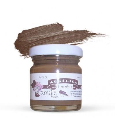 ACRÍLICA AMELIE CHOCOLATE