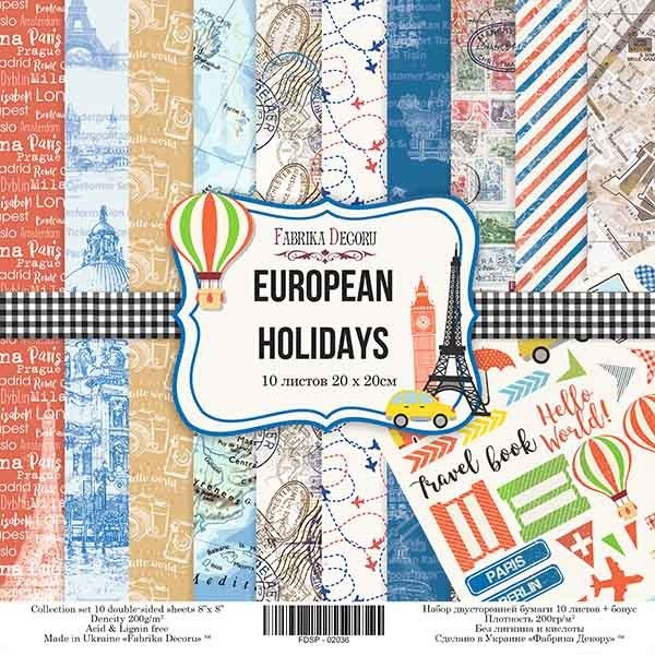 "EUROPAN HOLIDAYS 8"""