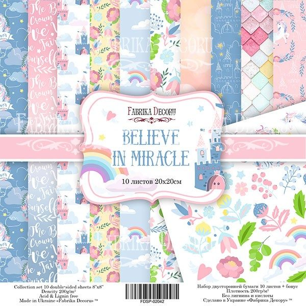 """BELIEVE IN MIRACLE 8"""""""