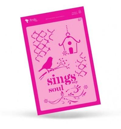 STENCIL SINGS SOUL