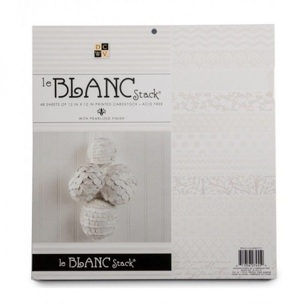 """LE BLANC STACK 12"""""""