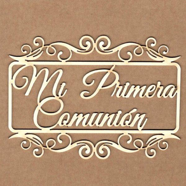 MI PRIMERA COMUNIÓN MARCO RECTÁNGULAR