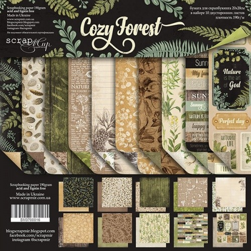 """COZY FOREST 8"""""""