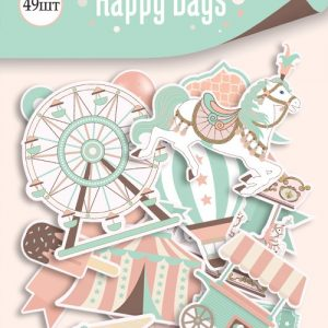 DIE CUT HAPPY DAYS