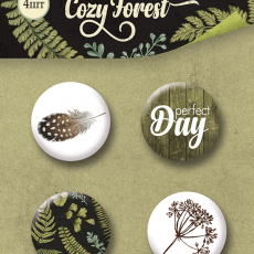 BOTONES COZY FOREST