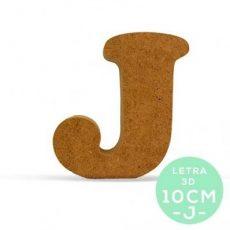 LETRA J DM 10 cm.