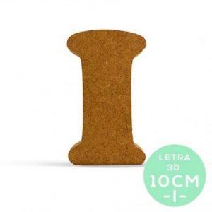 LETRA I DM 10 cm.