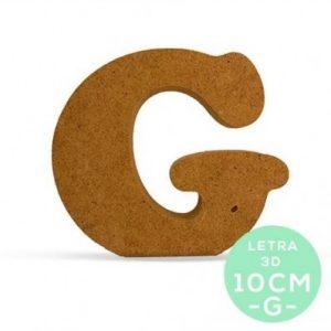 LETRA G DM 10cm.