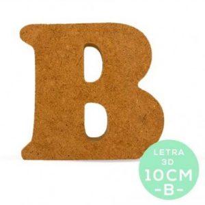 LETRA B DM 10cm.