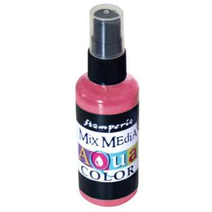 AQUACOLOR SPRAY ROSA ANTIGUO